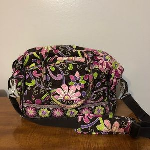 Vera Bradley Purse - Purple Punch